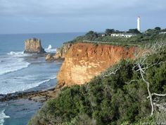 Eagle Rock and Split Point Lighthouse, Airey's Inlet, Victoria, Australia