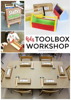 Construction themed kids workshop party construction for Home alone theme decorations