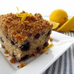 Clever Wren: Lemon-Blueberry Crumb Cake