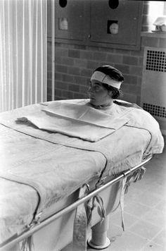 1936. Enfermas mentales sometidas a hidroterapia en el Pilgrim State Hospital. Fotografías de Alfred Eisenstaedt