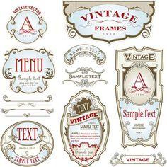 vintage wine label - Google Search | Black & White Labels & Clip ...