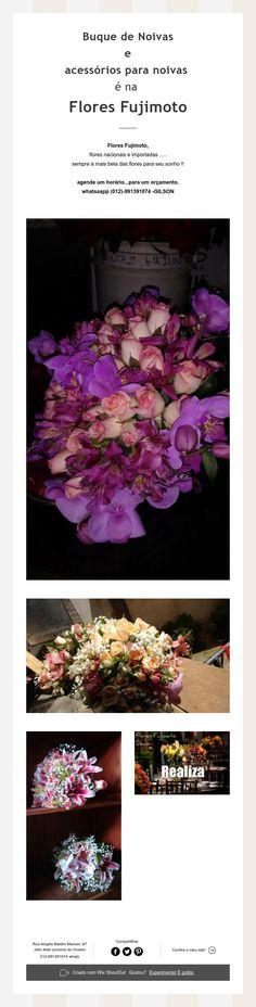 Buque de Noivas  e  acessórios para noivas  é na  Flores Fujimoto
