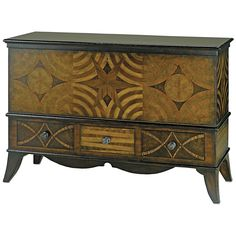 Currey and Company Creslow Cabinet 3082