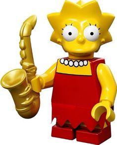 Lego Lisa Simpson