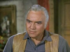 Lorne Greene the stage name of Lyon Himan Green (February 12, 1915 - September 11, 1987)  Canadian actor and musician.  His television roles include Ben Cartwright on the western Bonanza, and Commander Adama in the science fiction movie and subsequent TV Series Battlestar Galactica.