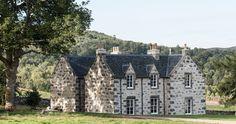 Killiehuntly Farmhouse in Scotland