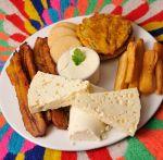 Yuquita frita, patacon, tajadas,arepitas,cuajadita, crema y queso palmita! Muero! Maracaibo
