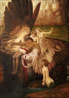 Herbert Draper - The Lament for Icarus