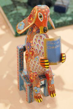 Dog Reads a Book Mexico by Teyacapan, via Flickr