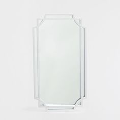 White mirror with an irregular double frame - MIRRORS - DECORATION | Zara Home United States of America