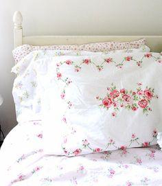 Love vintage linens...