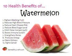 Benefits of Watermelon | 10 Health Benefits of Watermelon.