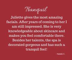 skin care, tranquility, facial