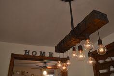 Light Fixture  Industrial Chandelier  Kitchen  door WestNinthVintage