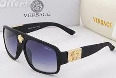 c5bbb30d85025 VERSACE Men Black Medusa Wrap Sunglasses VE4276 VERSACE SUNGLASSES Men  MEDUSA Wrap Sunglasses by VERSACE Acetate frame Fitted with G…