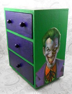 Hey, I found this really awesome Etsy listing at https://www.etsy.com/listing/175073664/custom-joker-green-and-purple-stash