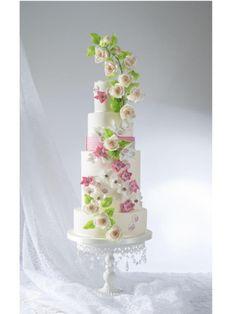 Zuhair Murad Fashion Inspired Cake Collaboration - Cake by Elli Warren