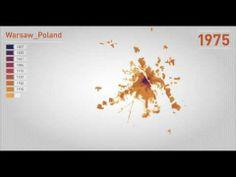 Tak rozrastała się Warszawa przez ostatnie 200 lat