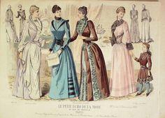 Le Petit Echo de la Mode 1889