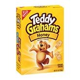 """Teddy Grahams = Valentine, I like you """"beary"""" much! Or, """"Bear hugs"""" for you, my Valentine!"""