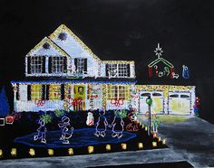 Brightscapes: The Way To Beauty  Christmas House, 2017 https://www.etsy.com/listing/186507940/custom-commission-original-art-by-mike  LET'S CREATE YOUR VERY OWN PAINTING TOGETHER! Your cherished memory or idea can be made into a work of art. Whether you want to remember a special day or give something to a caring friend; we can work together to create something unique. Invest in yourself and the arts with a special vision to color your walls. For examples of my previous work, please visit…