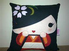 Handmade Japanese Japan Geisha Susako-chan Pillow http://www.rbitencourtusa.com/#!product/prd1/2685433131/handmade-japanese-japan-geisha-susako-chan-pillow
