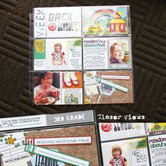 Lots of great school themed PL pages {by Rachel}
