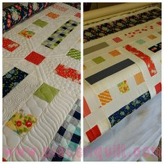 Custom Machine Quilting by Natalia Bonner of Piece N Quilt - author of Beginner's Guide to Free-Motion Quilting