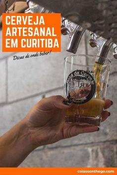 Onde beber cerveja artesanal em Curitiba! Dicas dos melhores bares e restaurantes da cidade para os cervejeiros de plantão! São os melhores pontos turísticos de Curitiba ;D