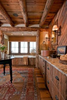 Looking for a similar Kilim rug for the cabin.