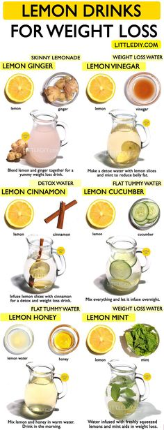 infused water recipes Detox waters are nothing but water infused with herbs, fruits or veggies to make it nutrient rich and have detoxing properties. There are a lot of detox wate Weight Loss Meals, Weight Loss Water, Weight Loss Detox, Weight Loss Drinks, Detox Water To Lose Weight, Body Weight, Weight Gain, Healthy Detox, Healthy Drinks