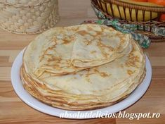Serve crêpes with your favorite filling. We love crêpes filled with chocolate, sour cherry jam, cream cheese and fruits, caramel pastry cream or vanilla past. Chocolate Crinkle Cookies, Chocolate Crinkles, Cake Recipes, Dessert Recipes, Desserts, Crêpe Recipe, Sour Cherry Jam, Longest Recipe, How To Make Crepe