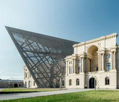 Militärhistorisches Museum Dresden, Germany - Daniel Libeskind
