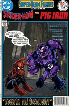 Spider-Ham & Pig Iron