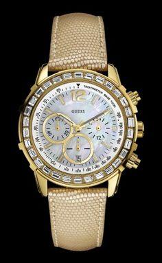 Guess horloge W0017L2 goud €229.95