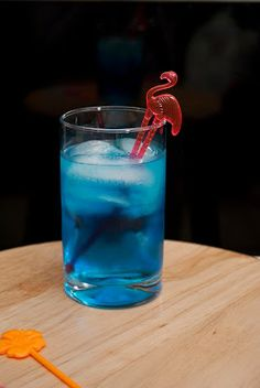 Blue Breeze ~ A Year of Cocktails