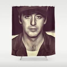 Al Pacino Actor Shower Curtain