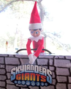 We suspect our Elf On The Shelf is holding this case shut in the hope he can evade a Skylanders Giants beating. He's messed with the Giants before and his mischievous side is likely to get him in trouble. Read more: http://www.8-bitcentral.com/pixeldInsight/elfOnTheShelf.html#ixzz2nTuPJobu
