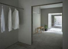 Japanese Minimalism Wardrobe, Featured on sharedesign.com.