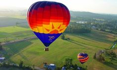 Sunrise Hot Air Balloon Ride for One or Two, Valid Weekdays or Weekends at Balloon Depot (Up to 14% Off)