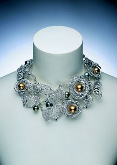 Rose garden necklace, Mikimoto