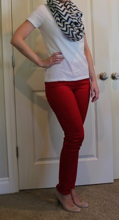 Margaret M – Duboce Straight Leg Jean  I think I'd like to try a colored pant!   eeek.