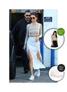 Kendall Jenner running around LA - seen in Nike. #nike  #kendalljenner @dejamoda