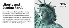 eBay for Charity - support refugees and protect human rights in the US and globally | eBay