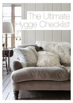 The Danish concept of hygge is quickly spreading its warmth across the world. Find out about the idea of appreciating the small moments in life & top tips for your own home...