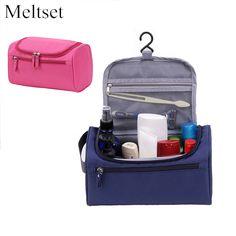 Waterproof Cosmetic Bags Travel Portable Wash Toilet Toiletry Bag Hanging Sundry Underwear Makeup Organizer  #Affiliate