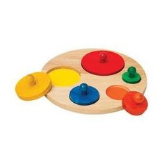 Baby Shape Sorter Toys   - Pin it :-) Follow us .. CLICK IMAGE TWICE for our BEST PRICING ... SEE A LARGER SELECTION of  baby shape sorter toys   at  http://zbabybaby.com/category/baby-categories/baby-and-toddler-toys/baby-shape-sorter-toys/ - gift ideas, baby , baby shower gift ideas -   Toy / Game Fantastic Circle Sorter with Graduated Circles, Color Coded, Jumbo Knobs Easy to Grip & Manipulate « zBabyBaby.com