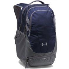 Under Armour Unisex UA Team Hustle Backpack Navy 1306060 410 North Face Backpack, Black Backpack, Volleyball Gear, Under Armour Team, Under Armour Backpack, Messenger Backpack, Grey Backpacks, Coin Bag, Adulting