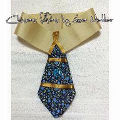 Super chique colarinho e gravata pet