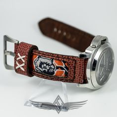 #Panerai #PAM111 Custom Watch Strap Chicago Bears Super Bowl XX - #OCWatchCompany #WatchStore #WalnutCreek